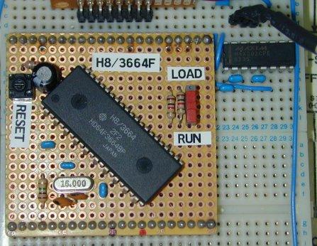 H3668 board in use