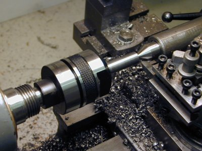 mounting the cutter for machining